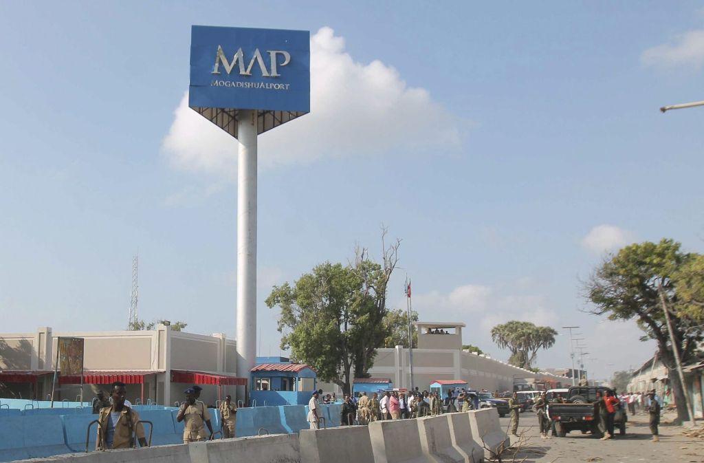 In der somalischen Hauptstadt Mogadischu hat es einen Selbstmordanschlag gegeben. Foto: EPA