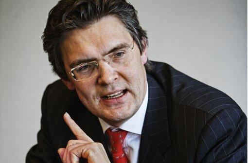 Lässt sich ungern belehren: der ehemalige LBBW-Chef Siegfried Jaschinski. Foto: Zweygarth