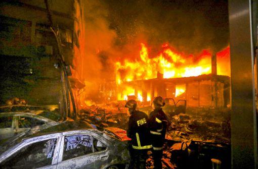 Inferno in Dhaka