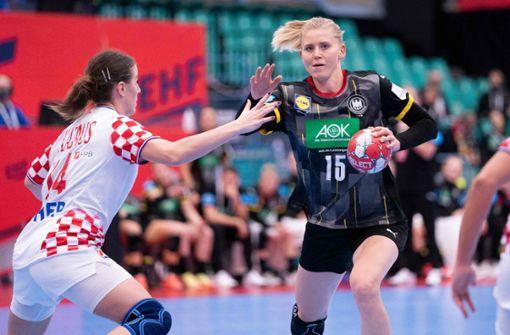 Deutsche Handballerinnen verpassen EM-Halbfinale