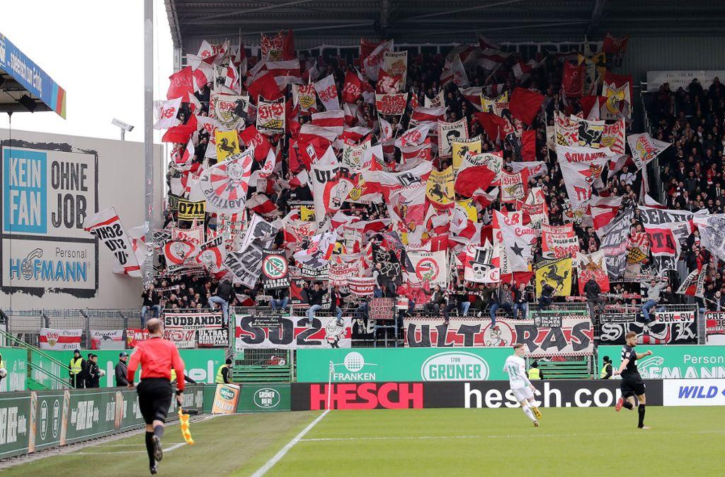 Der VfB Stuttgart hatte zuvor mit 0:2 in Fürth verloren. Foto: Pressefoto Baumann/Alexander Keppler