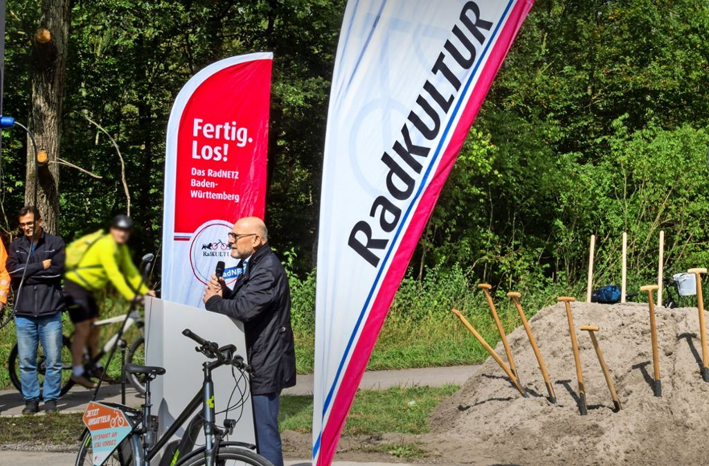 Baustellenbegehung: Landesverkehrsminister Foto: factum