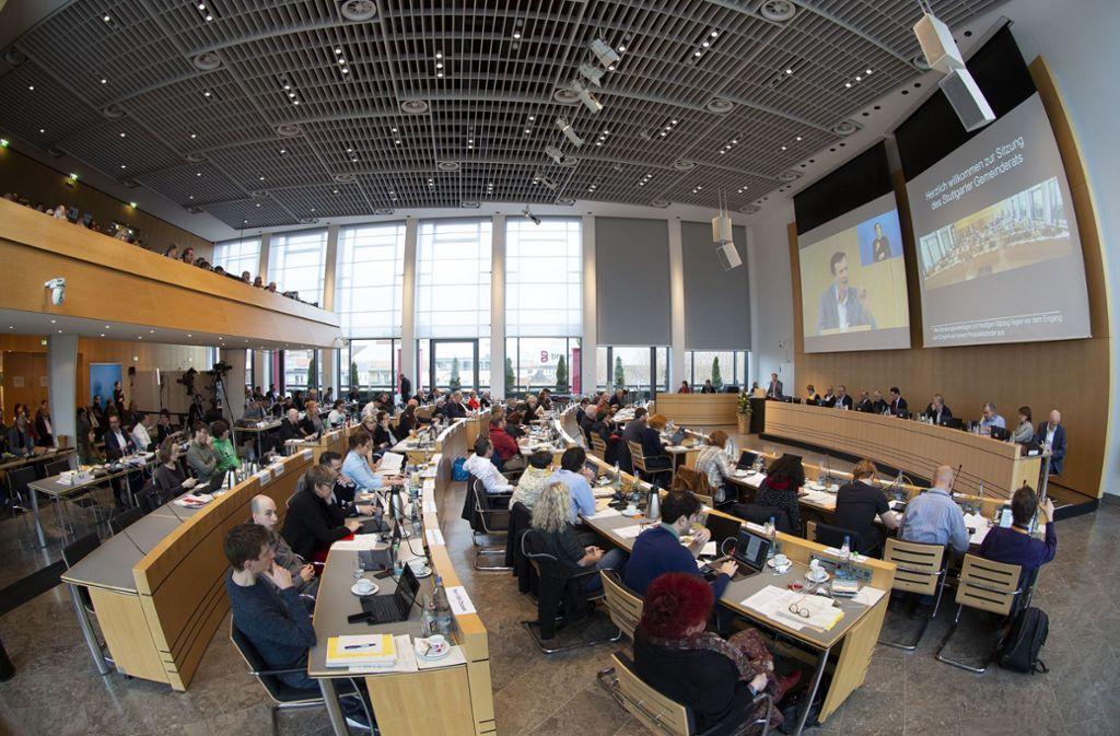 Jede Menge Projekte: Am Freitag entschied  der Gemeinderat über den Haushalt. Foto: Lichtgut/Leif Piechowski