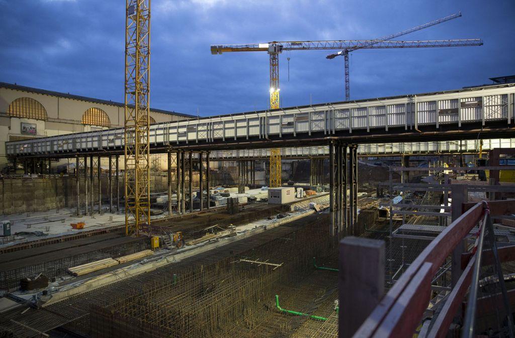 Der Kontrolldruck der Behörden auf die Baustellen des Projekts Stuttgart 21 zeitigt Wirkung. Foto: Lichtgut/Leif Piechowski