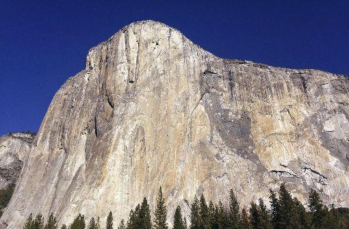 Fels erschlägt Besucher am El Capitan