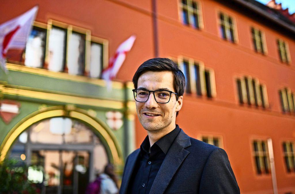 Martin Horn:  das Positive als Rathauschef überwiegt für ihn bei Weitem. Foto: dpa