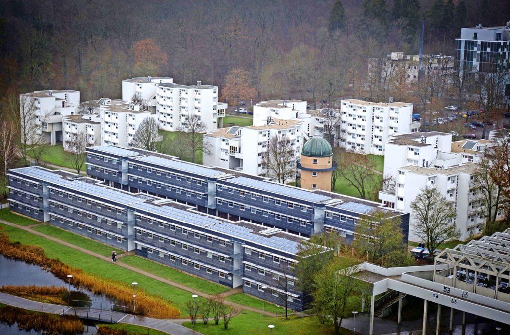 Rund um die Uni in Stuttgart-Vaihingen gibt es mehrere Wohnheime. Foto: Lichtgut/Achim Zweygarth