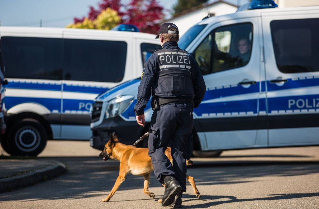 Derzeit gibt es weitere Polizeieinsätze, zum Beispiel in Rottenburg am Neckar. Foto: dpa
