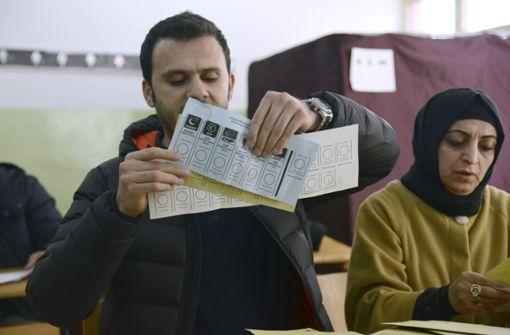 Kommunalpolitiker gewählt - Geht Ankara an die Opposition?