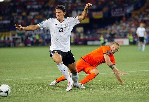 Deutschland spielt gegen die Niederlande