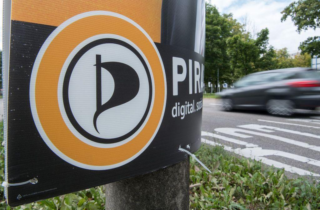 Die Piraten treten mit Michael Knödler im Wahlkreis Stuttgart I an. Foto: dpa