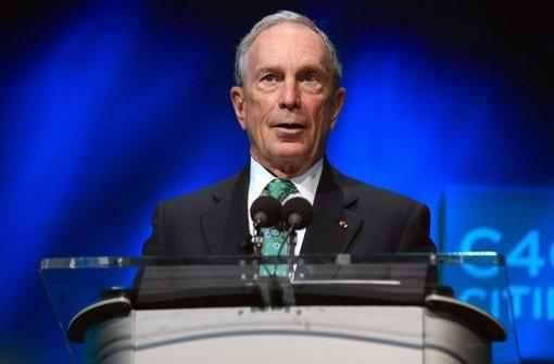 Bloomberg tritt nicht an