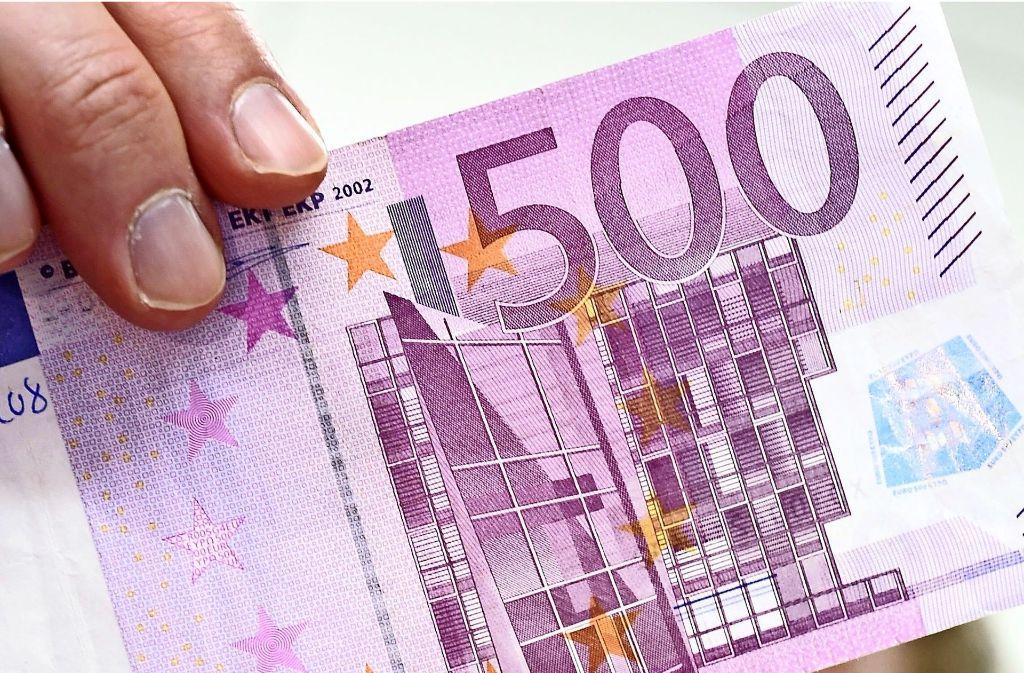 Bezahlen Mit 500 Euro Schein