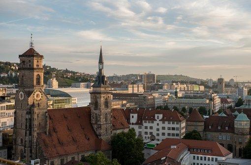 Stuttgart aus der Turmperspektive