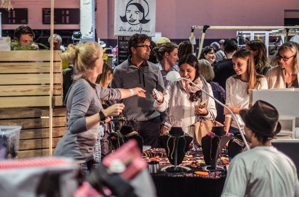 Auch in diesem Herbst wieder im Wizemann: der eigenART Kreativmarkt. Was in Stuttgart und Region an diesem Wochenende außerdem geboten ist, zeigen wir in unserer Bildergalerie. Klicken Sie sich durch. Foto: Max Kovalenko