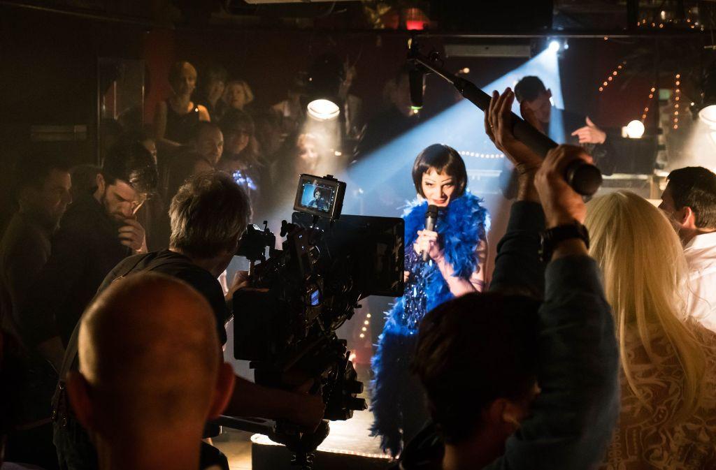 Der Schauspieler Johannes Franke als Victoria Foto: Lichtgut/Achim Zweygarth