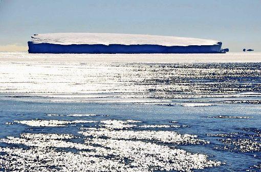 Das Eis schmilzt und schmilzt