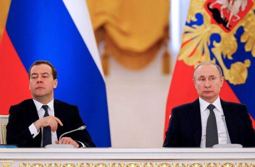 Dmitri Medwedew soll Regierungschef bleiben