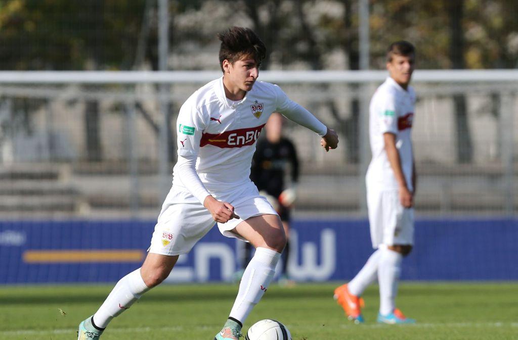 Georgios Spanoudakis steht vor dem Absprung beim VfB. Foto: Pressefoto Baumann
