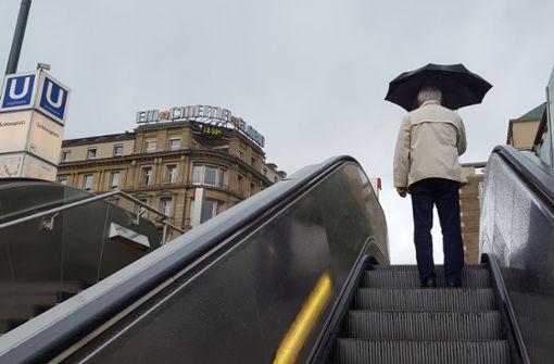 Starke Böen und Regen – es wird ungemütlich in der Landeshauptstadt
