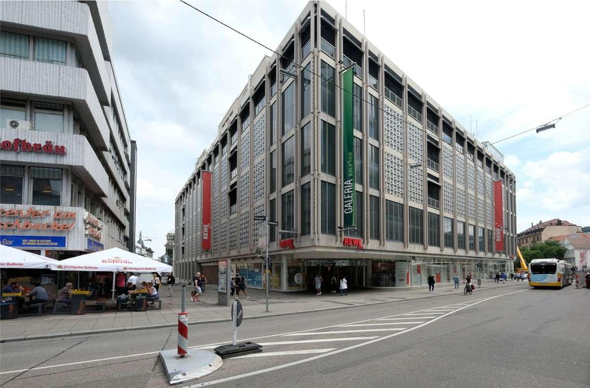Das frühere Horton-Kaufhaus soll nach den Plänen des Investors René Benko einem Bürogebäude mit reduziertem Einzelhandel weichen. Foto: Wilhelm Mierendorf wm-foto@t.online.de