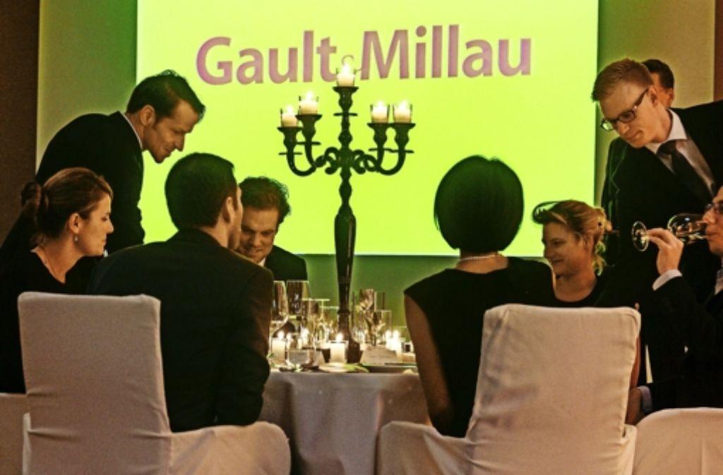 """Zuletzt in Berlin, diesmal in Ludwigsburg: die Präsentation des """"Gault Millau"""" Foto:"""