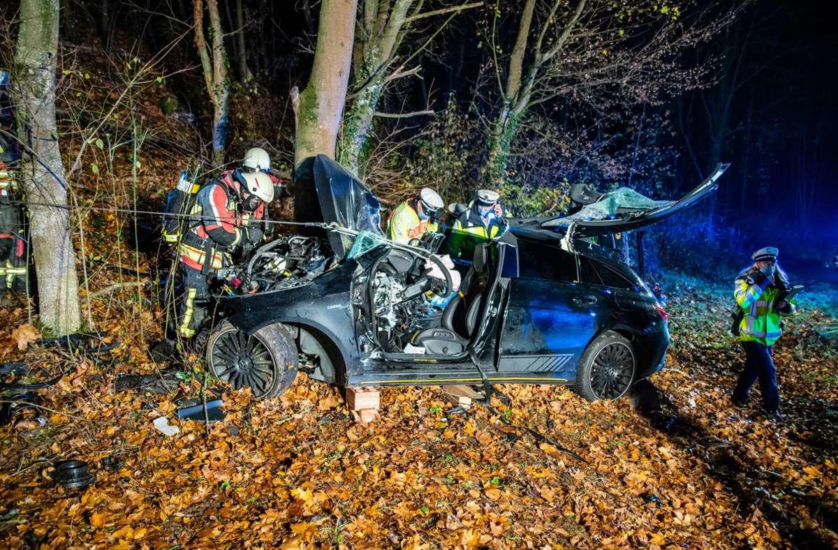 Der Mann war am 6. November bei Münchingen verunglückt. Foto: 7aktuell/Nils Reeh