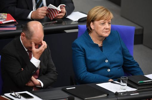 Neue Tiefstwerte für Union und SPD - Grüne im Aufwind