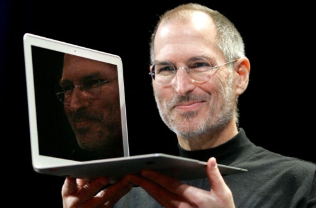 Apple-Vater Steve Jobs wäre sicher beruhigt: Das Macbook Air ist nun patentrechtlich vor Design-Klau geschützt. Foto: dapd