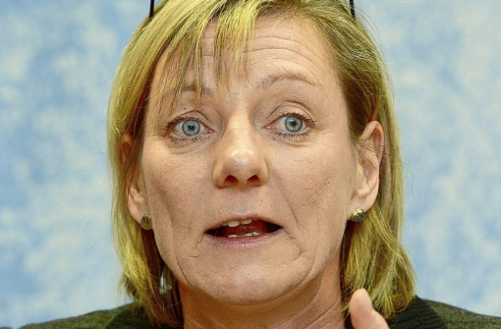 Edith Sitzmann erntet mit ihren Überlegungen viel Kritik. Foto: dpa
