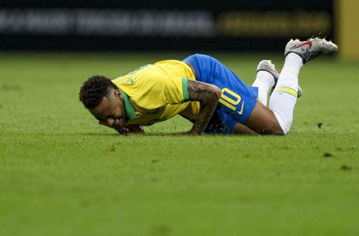 Neymar fällt mit Bänderriss für Turnier aus