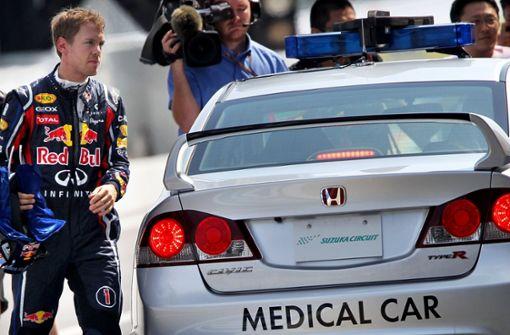 So wird Rennfahrern das Leben gerettet