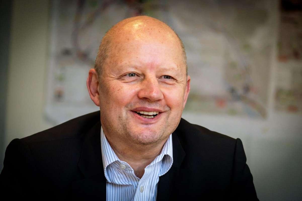 Neuer Chef des S-21-Projekts: Olaf Drescher. Foto: Lichtgut/Julian Rettig