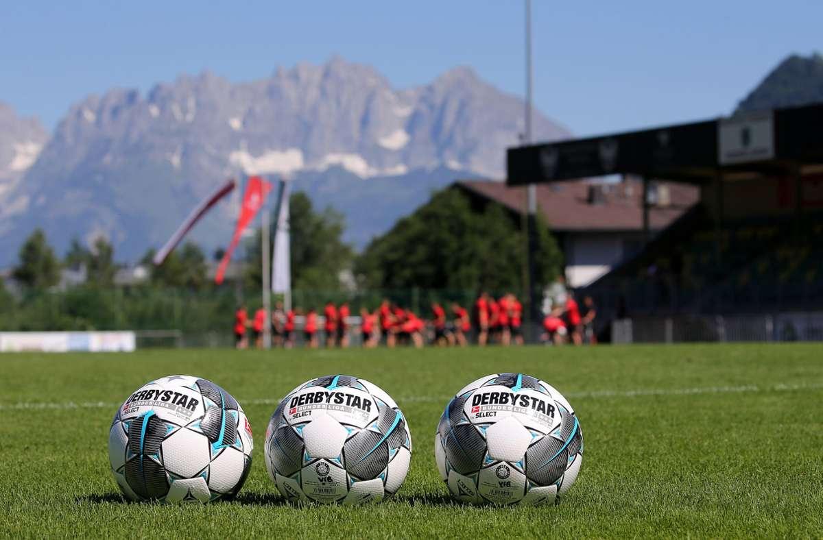 Wie schon 2019 schlägt der VfB auch dieses Jahr wieder in Kitzbühel auf. Foto: Baumann