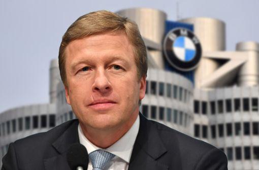 Neuer BMW-Chef tritt schweres Erbe an