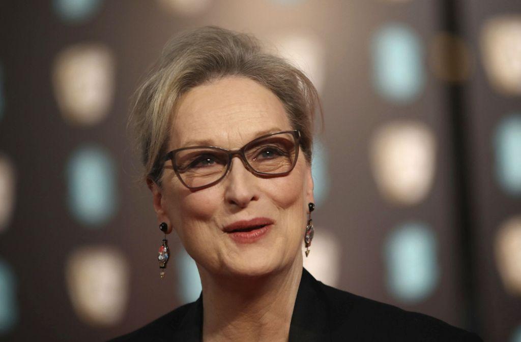 Die Schauspielerin Meryl Streep ist gerade siebzig Jahre alt geworden. Foto: dpa