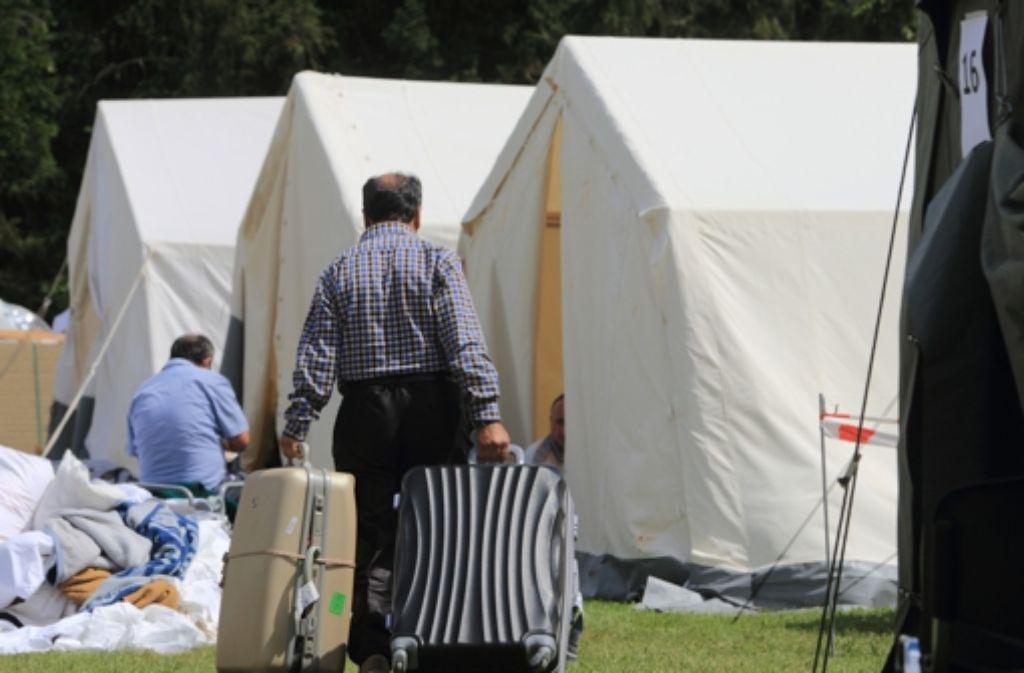 CDU-Spitzenkandidat Guido Wolf versucht die Landesregierung in die Enge zu treiben, indem er ihr Missmanagement in der Flüchtlingskrise vorwirft. Foto: dpa