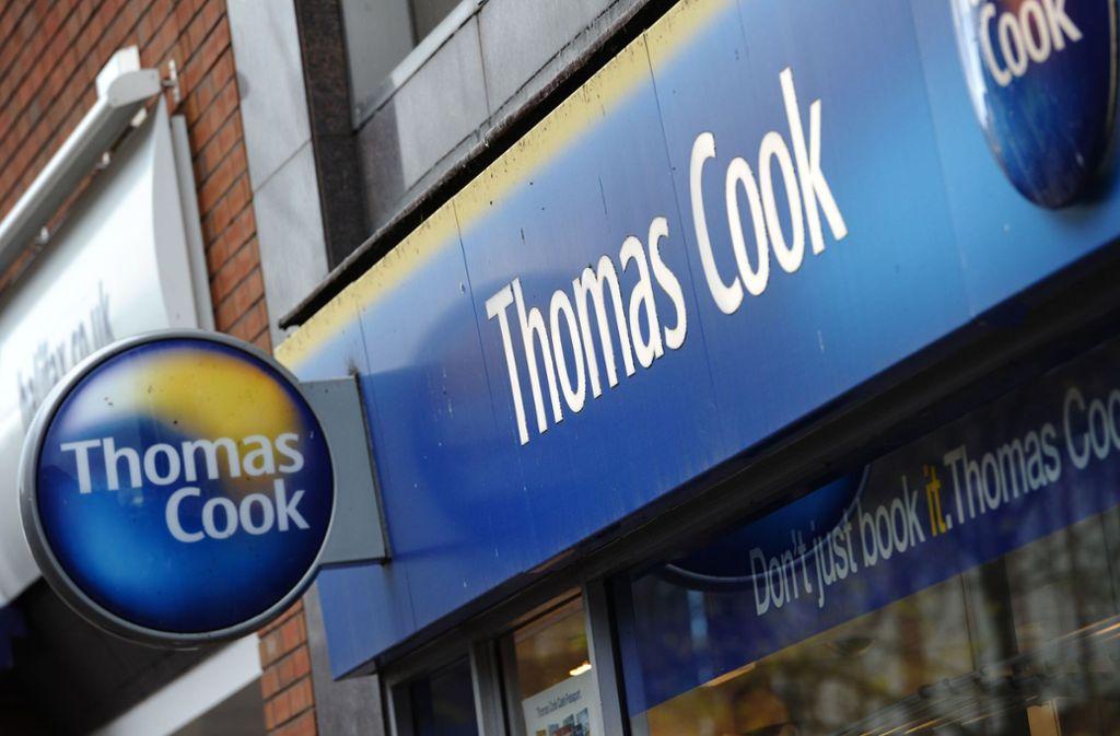 Der Reiseveranstalter Thomas Cook ist in finanziellen Turbulenzen. Foto: AFP/PAUL ELLIS