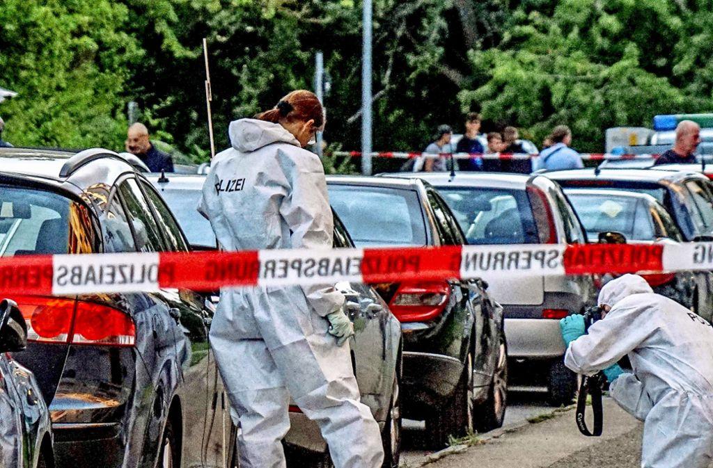 Schwertmord Stuttgart Video