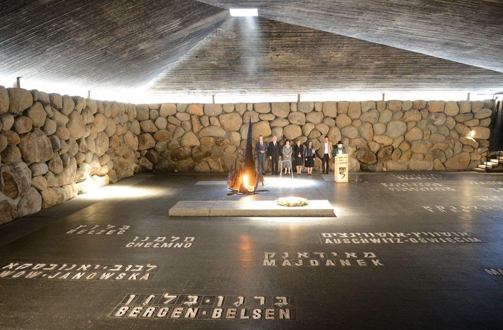 Die Holocaustgedenkstätte Yad Vashem in Israel hat den Schauspieler Hans Söhnker ausgezeichnet. Foto: dpa