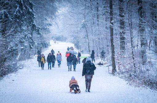 Wie lange bleibt der Winter in der Stadt?