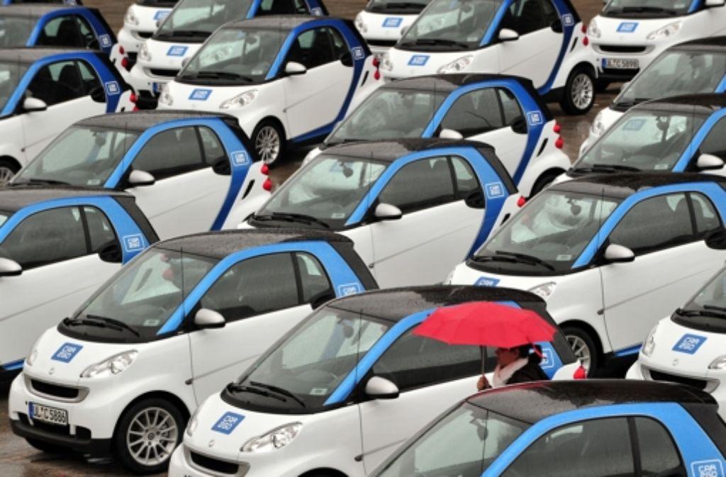 Der neueste Trend: das Elektroauto zum Mitnehmen. Foto: dpa