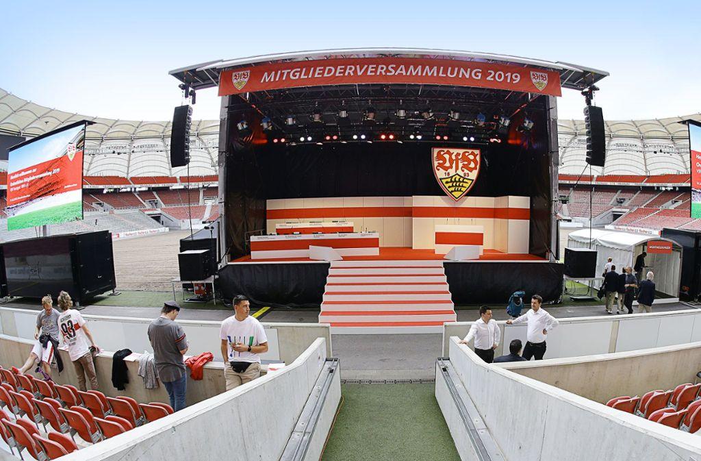Beim VfB Stuttgart sind einige  Posten neu zu besetzen Foto: Baumann