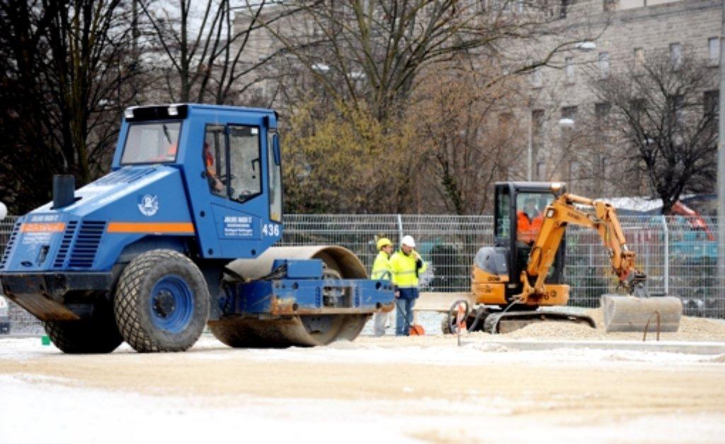 Es werden nicht weniger Baustellen in Stuttgart. Wir stellen die teuersten Straßenbauarbeiten vor, mit denen in diesem Jahr begonnen werden soll. Foto: dpa (Symbolbild)