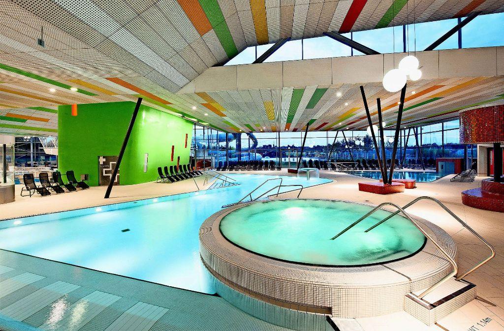 Der Schwimmtempel F3 in Fellbach ist ein Beispiel für den Trend zum Erlebnisbad. Foto: privat