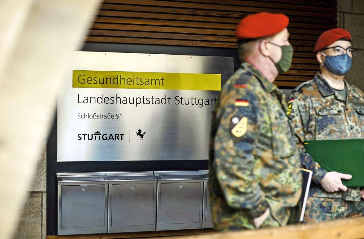 Erst vor wenigen Monaten verabschiedet, jetzt aber doch wieder im Einsatz gegen die Pandemie: Foto: Lichtgut/Max Kovalenko