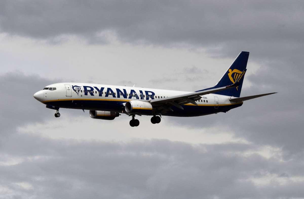Europas größter Billigflieger Ryanair  will expandieren, Foto: dpa/Boris Roessler