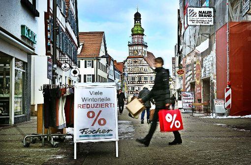 Marktplatz in der Warteschleife