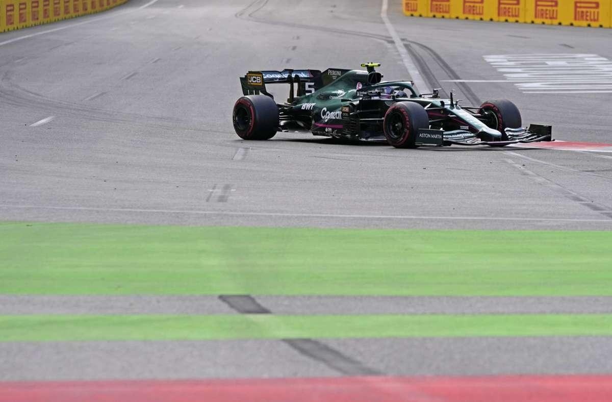 Sebastian Vettel belegte den zweiten Platz. Foto: dpa/Darko Vojinovic