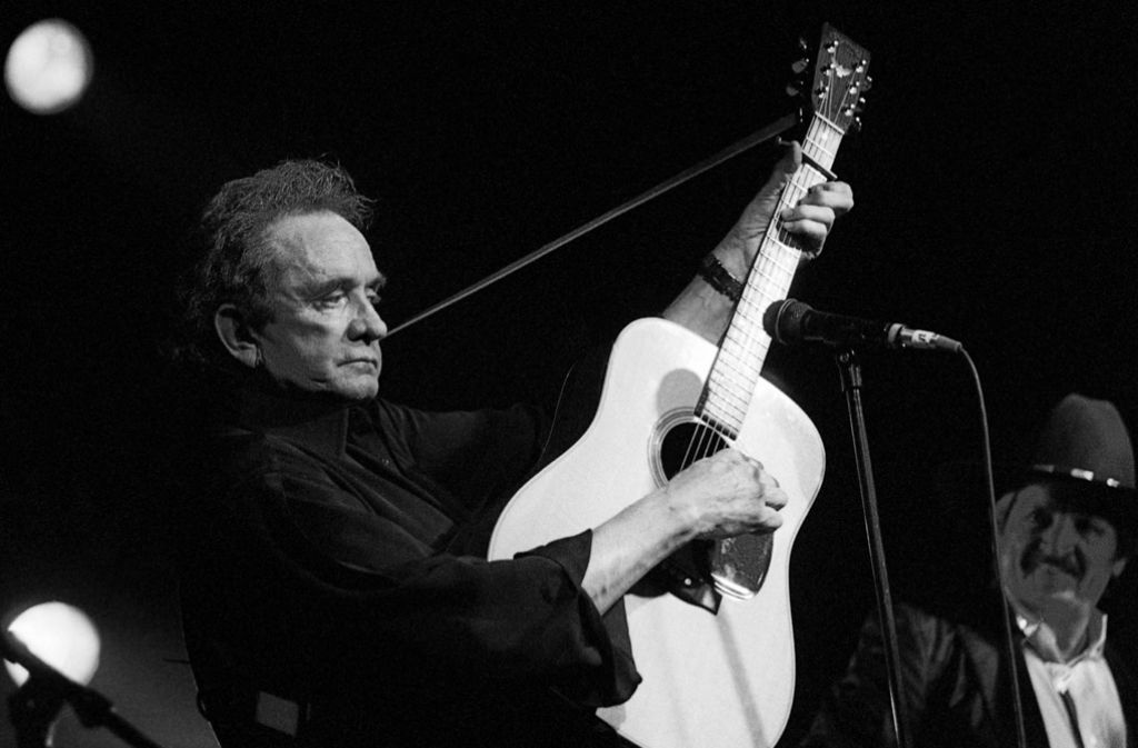The Voice: Country-Legende Johnny Cash (1932-2003). Foto: dpa